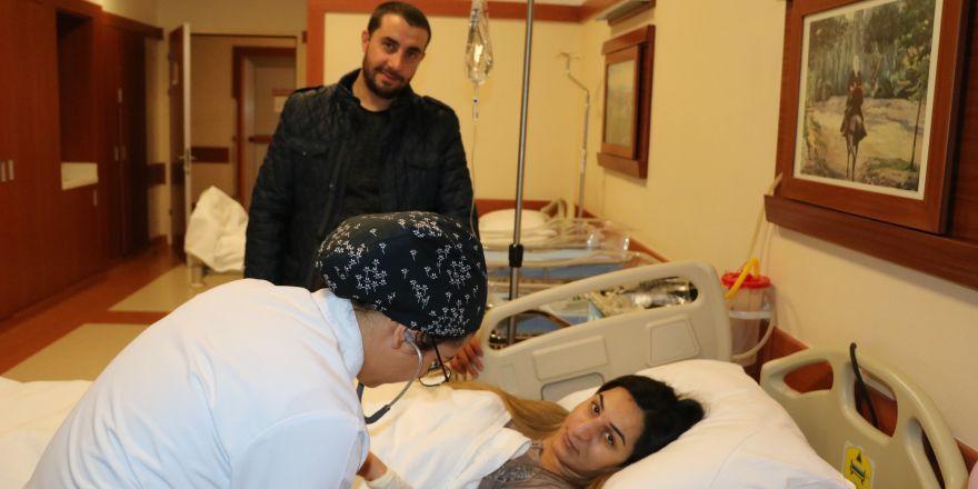 2019'un ilk 3'üz bebekleri Gaziantep'te dünyaya geldi