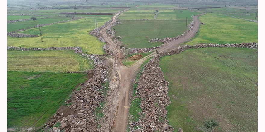 Arazi yolları açıldı