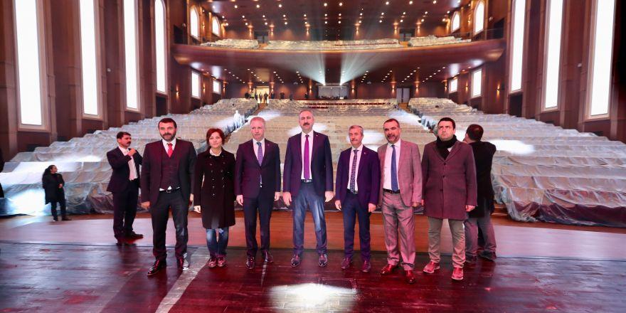 Bakan Gül'den Şahinbey'in projesine tam not